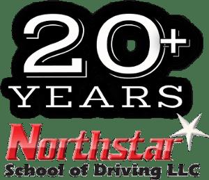 Northstar school of driving llc 20 plus years in business logo